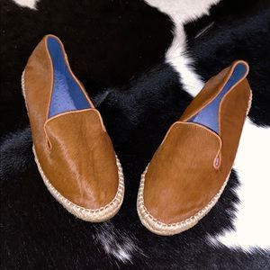 Jeffrey Campbell Pony Hair Tan 9.5 Loafers